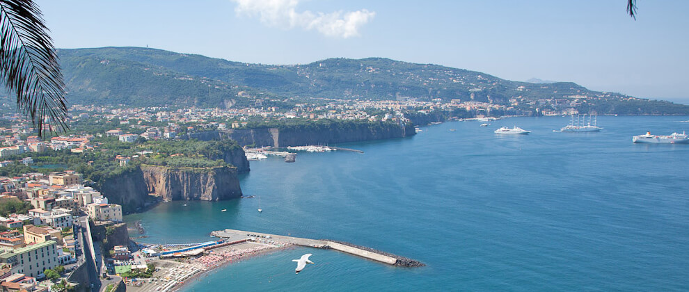 Sorrento and Amalfi Coast sea